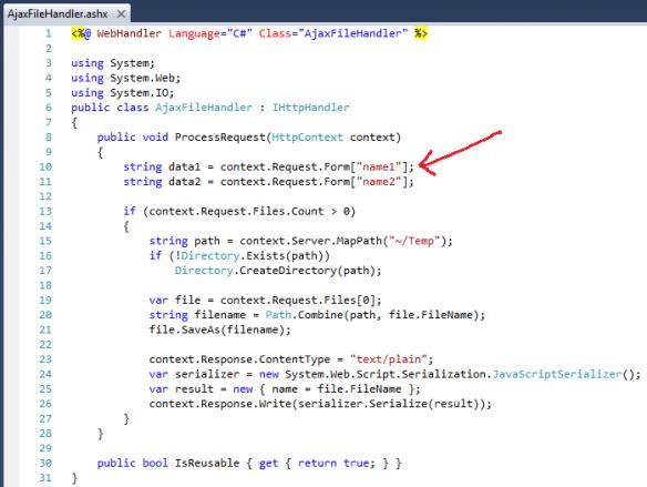 ASP NET Ajax file upload using jQuery File Upload plugin | I