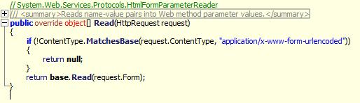 HtmlFormParameterReader