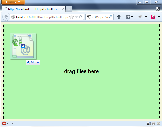 HTML5 Drag and Drop Ajax file upload using jQuery File